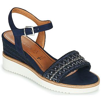 Chaussures Femme Sandales et Nu-pieds Tamaris ALIS Marine