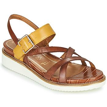 Chaussures Femme Sandales et Nu-pieds Tamaris EDA NUT/SAFFRON