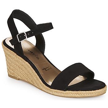 Chaussures Femme Sandales et Nu-pieds Tamaris LIVIAN BLACK