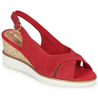 Chaussures Femme Sandales et Nu-pieds Tamaris ALIS Rouge