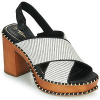 Chaussures Femme Sandales et Nu-pieds Tamaris CLAUDIE WHITE COMB