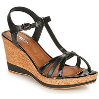 Chaussures Femme Sandales et Nu-pieds Tamaris VESILA BLACK