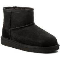 Chaussures Enfant Bottes de neige UGG classic mini ii Noir