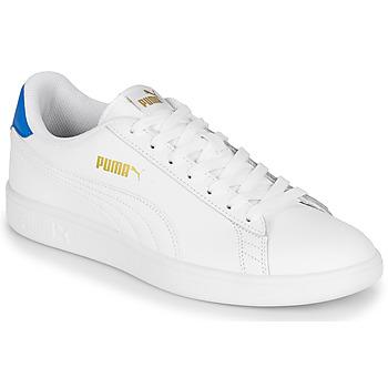Chaussures Homme Baskets basses Puma PUMA SMASH V2 L Blanc