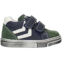 Chaussures Garçon Baskets montantes Balocchi 993270 Bleu et vert