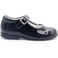 Chaussures Fille Ballerines / babies Boni & Sidonie Babies en cuir vernis à boucles - LOUISE Vernis Noir