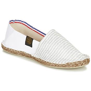 Chaussures Femme Espadrilles Art of Soule AUDACIEUSES Blanc / Beige