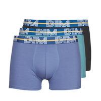 Sous-vêtements Homme Boxers DIM BO POWERFUL X3 Bleu / Vert / Noir