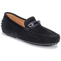 Schuhe Herren Slipper Brett & Sons FARICE Marineblau