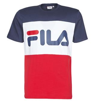 Kleidung Herren T-Shirts Fila DAY Marineblau / Rot / Weiß