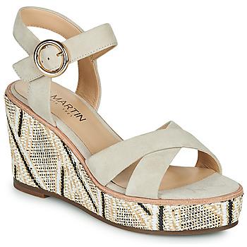 Chaussures Femme Sandales et Nu-pieds JB Martin EMEA GRES/RAFFIA