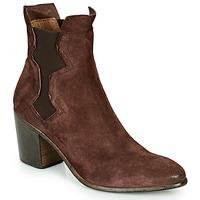 Chaussures Femme Bottines Moma NIAGARA - OLIVER Marron