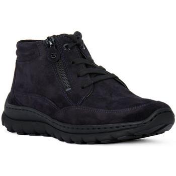 Chaussures Femme Baskets montantes Ara VELOUR BLAU Blu