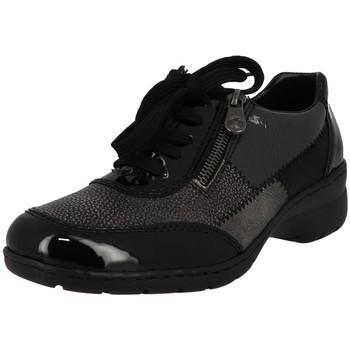 Chaussures Femme Derbies Rieker l4320 noir