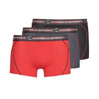 Sous-vêtements Homme Boxers Athena TRAINING Noir / Rouge / Gris