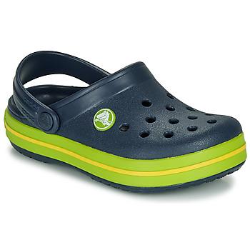 Schuhe Kinder Pantoletten / Clogs Crocs CROCBAND CLOG K Marineblau
