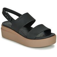 Schuhe Damen Sandalen / Sandaletten Crocs CROCS BROOKLYN LOW WEDGE W