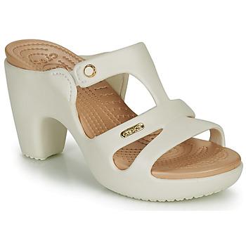 Schuhe Damen Pantoffel Crocs CYPRUS V HEEL W