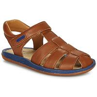 Chaussures Enfant Sandales et Nu-pieds Camper BICHO Marron / marine