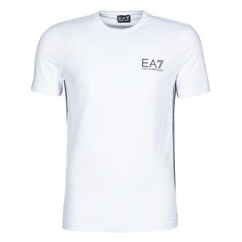 Abbigliamento Uomo T-shirt maniche corte Emporio Armani EA7 TRAIN LOGO SERIES M TAPE TEE ST