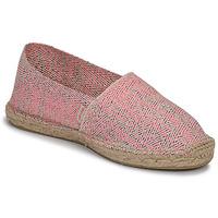 Schuhe Damen Leinen-Pantoletten mit gefloch Pare Gabia VP FLUO