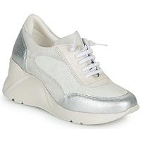 Schuhe Damen Sneaker Low Hispanitas TOKIO Weiß / Silber