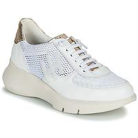 Schuhe Damen Sneaker Low Hispanitas CUZCO Weiß / Golden