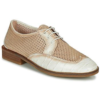 Schuhe Damen Derby-Schuhe Hispanitas LONDRES Beige / Weiß