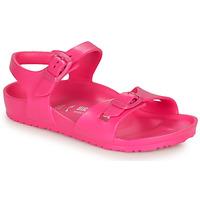 Chaussures Fille Sandales et Nu-pieds Birkenstock RIO EVA Pink