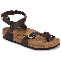 Chaussures Femme Sandales et Nu-pieds Birkenstock YARA LEATHER Brown