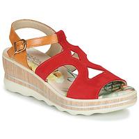 Chaussures Femme Sandales et Nu-pieds Dorking YAP JAUNE