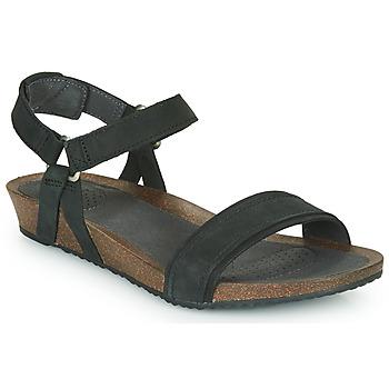 Chaussures Femme Sandales et Nu-pieds Teva MAHONIA STITCH Noir