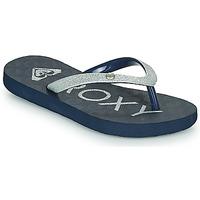Schuhe Mädchen Zehensandalen Roxy VIVA GLTR III Marineblau