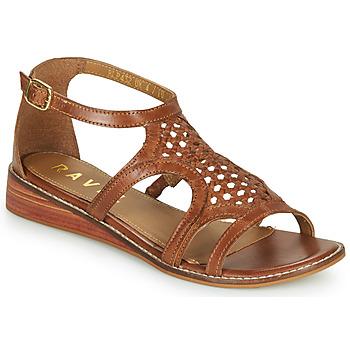 Chaussures Femme Sandales et Nu-pieds Ravel CARDWELL Tan