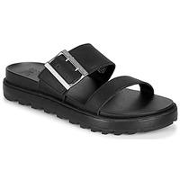 Chaussures Femme Sandales et Nu-pieds Sorel ROAMING BUCKLE SLIDE Noir