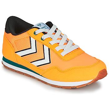 Chaussures Enfant Baskets basses Hummel REFLEX JR Jaune