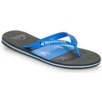Schuhe Herren Zehensandalen Quiksilver MOLOKAI WOLRDBLOCK Blau