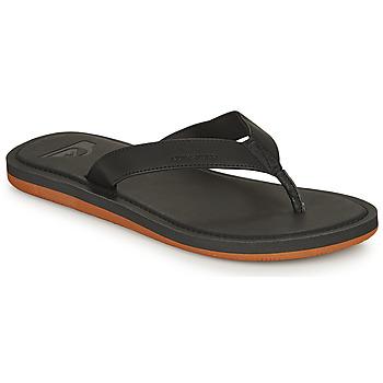 Chaussures Homme Tongs Quiksilver MOLOKAI NUBUCK II Noir