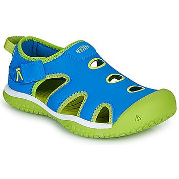 Chaussures Enfant Sandales sport Keen STINGRAY Bleu / Vert