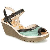 Schuhe Damen Sandalen / Sandaletten Fly London YANS Blau