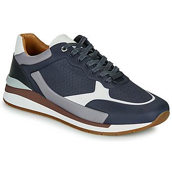 Schuhe Herren Sneaker Low BOSS LEMENT RUNN LYEM Marineblau / Grau