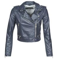 Vêtements Femme Vestes en cuir / synthétiques Oakwood YOKO Navy Blue (Access Silver°)