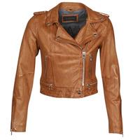 Vêtements Femme Vestes en cuir / synthétiques Oakwood KYOTO Cognac
