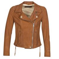 Vêtements Femme Vestes en cuir / synthétiques Oakwood ANGIE Whisky