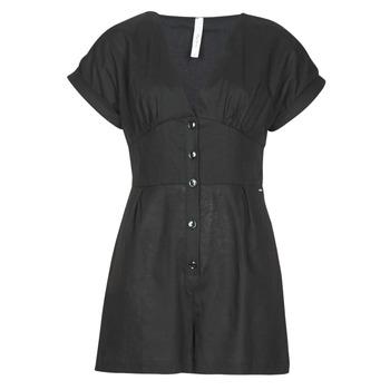 Vêtements Femme Combinaisons / Salopettes Pepe jeans SHERGIA Noir
