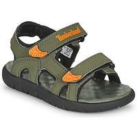 Schuhe Kinder Sandalen / Sandaletten Timberland PERKINS ROW 2-STRAP Orange