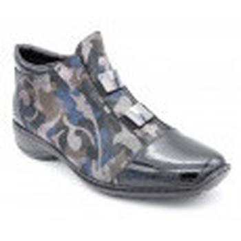 Chaussures Femme Boots Rieker 58398-00 Noir