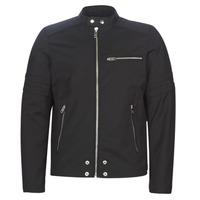 Vêtements Homme Vestes en cuir / synthétiques Diesel J-GLORY Noir