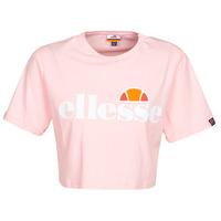 Vêtements Femme T-shirts manches courtes Ellesse ALBERTA Rose