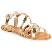 Chaussures Femme Sandales et Nu-pieds So Size IDITRON doré